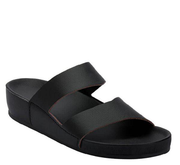 3LO F Clinic papuča crna - Grey anatomska obuća