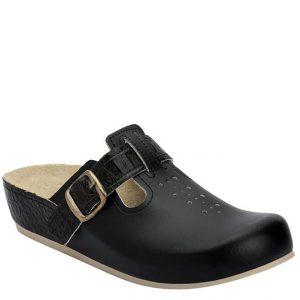 4LK Clinic kombinirana crna - Grey anatomska obuća