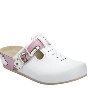 4LK Clinic kombinirana Hello Kitty - Grey anatomska obuća