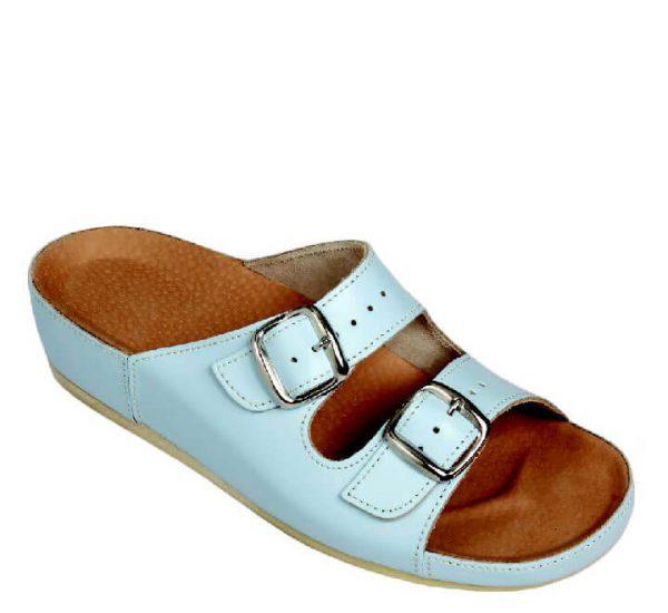 4LO Clinic papuča svijetlo plava - Grey anatomska obuća