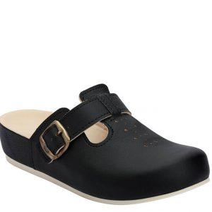 5L Clinic klompa crna (kožna) - Grey anatomska obuća