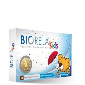 Biorela Kids medvjedići s bifidobacterium lactis - 20 medvjedica