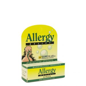 Homeolab Allergy Relief - Homeopatski proizvod - 80 peleta