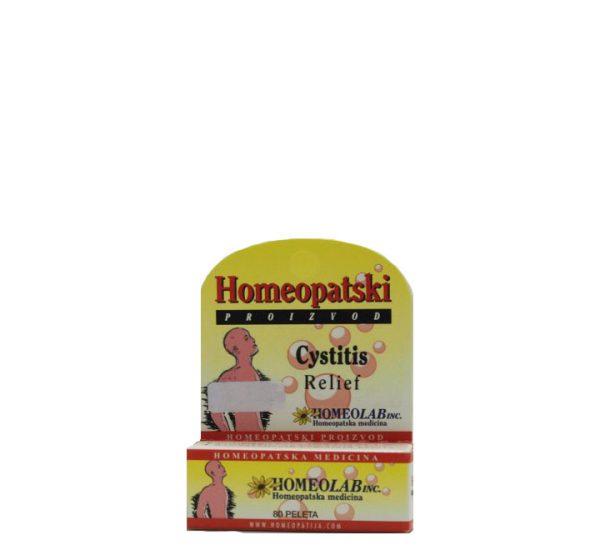 Homeolab Cystitis Relief - Homeopatski proizvod - 80 peleta
