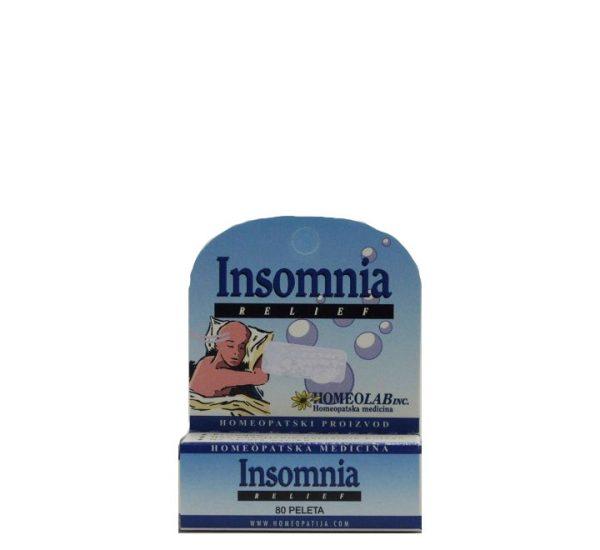 Homeolab Insomnia Relief - Homeopatski proizvod - 80 peleta