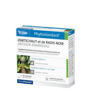 Phytostandard artisjok rammenas - fitoterapija artičkoa i crna rotkva - 30 kapsula/tableta
