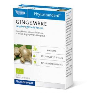 Phytostandard gingembre - Fitoterapija đumbir 20 kapsula/tableta