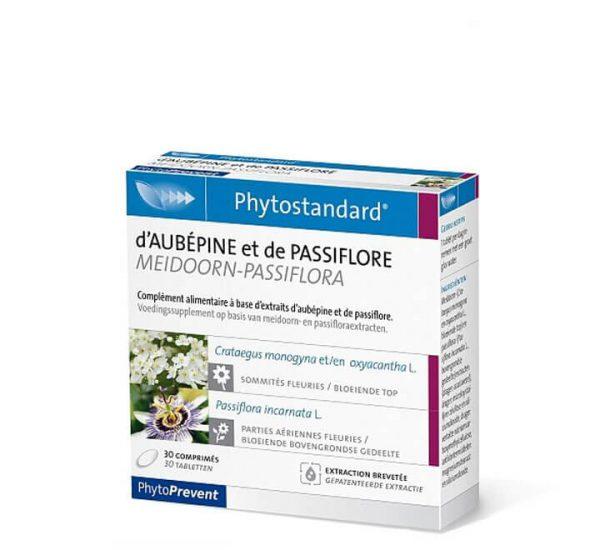 Phytostandard Meidoorn - Passiflora - fitoterapija glog pasifore - 30 kapsula/tableta
