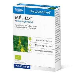 Phytostandard melilot - fitoterapija matičnjak - 20 kapsula/tableta