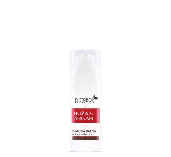 Ruža i Argan - hranjiva krema - 50 ml