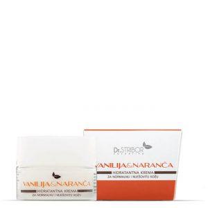 Vanilija i naranča - hidratantna krema za normalnu i mješovitu kožu