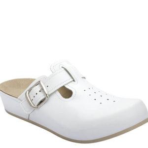 4L Clinic klompa bijela - Grey anatomska obuća