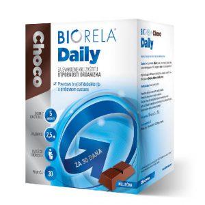 Biorela Choco Daily - mliječna čokolada - 30 prutića
