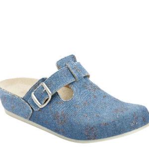 Ecco traper svijetlo plava - Grey anatomska obuća
