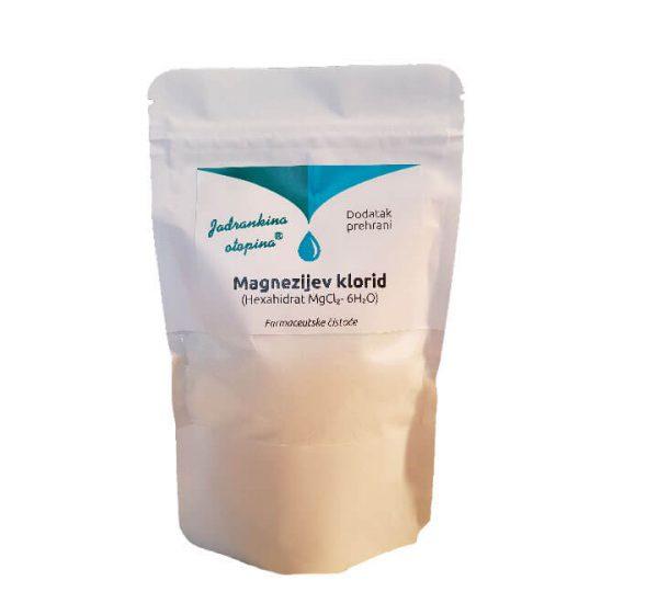Jadrankina otopina - Dodatak prehrani - Magnezijev klorid hexahidrat - 150 g