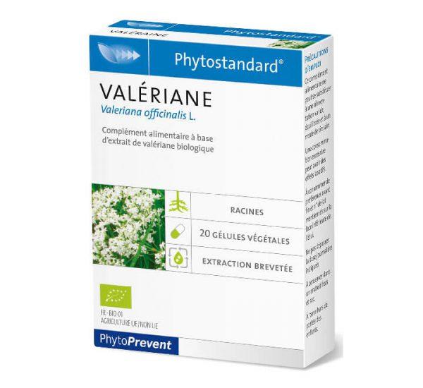 Phytostandard Valeriane - Odoljen - 20 kapsula/tableta