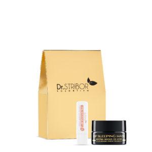DR STRIBOR Paket: Lip sleeping mask + Plantalip balzam za usne
