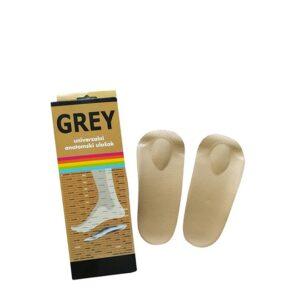 Grey anatomski kožni uložak