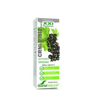 SORIA NATURAL Crni ribiz (Ribes nigrum L.) - preporuka kod alergija, reumatoidnog artritisa i osteoartritisa.