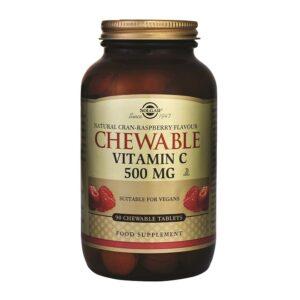 SOLGAR Vitamin C 500 tablete za žvakanje a90