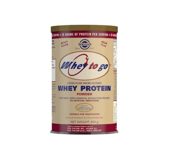 SOLGAR Whey to go proteini čokolada