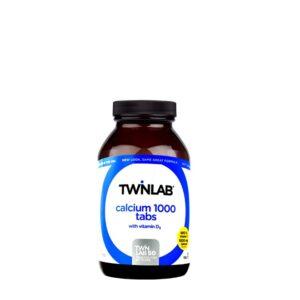 TWINLAB Kalcij 1000 s vitaminom D