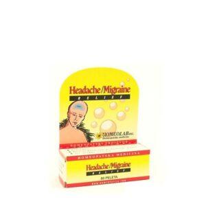 Homeolab Headache Migraine relief (glavobolja, migrena)