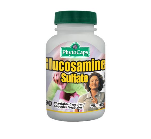 PHYTOCAPS Glucosamine Sulfat (zglobivi) Glukozamin Sulfat